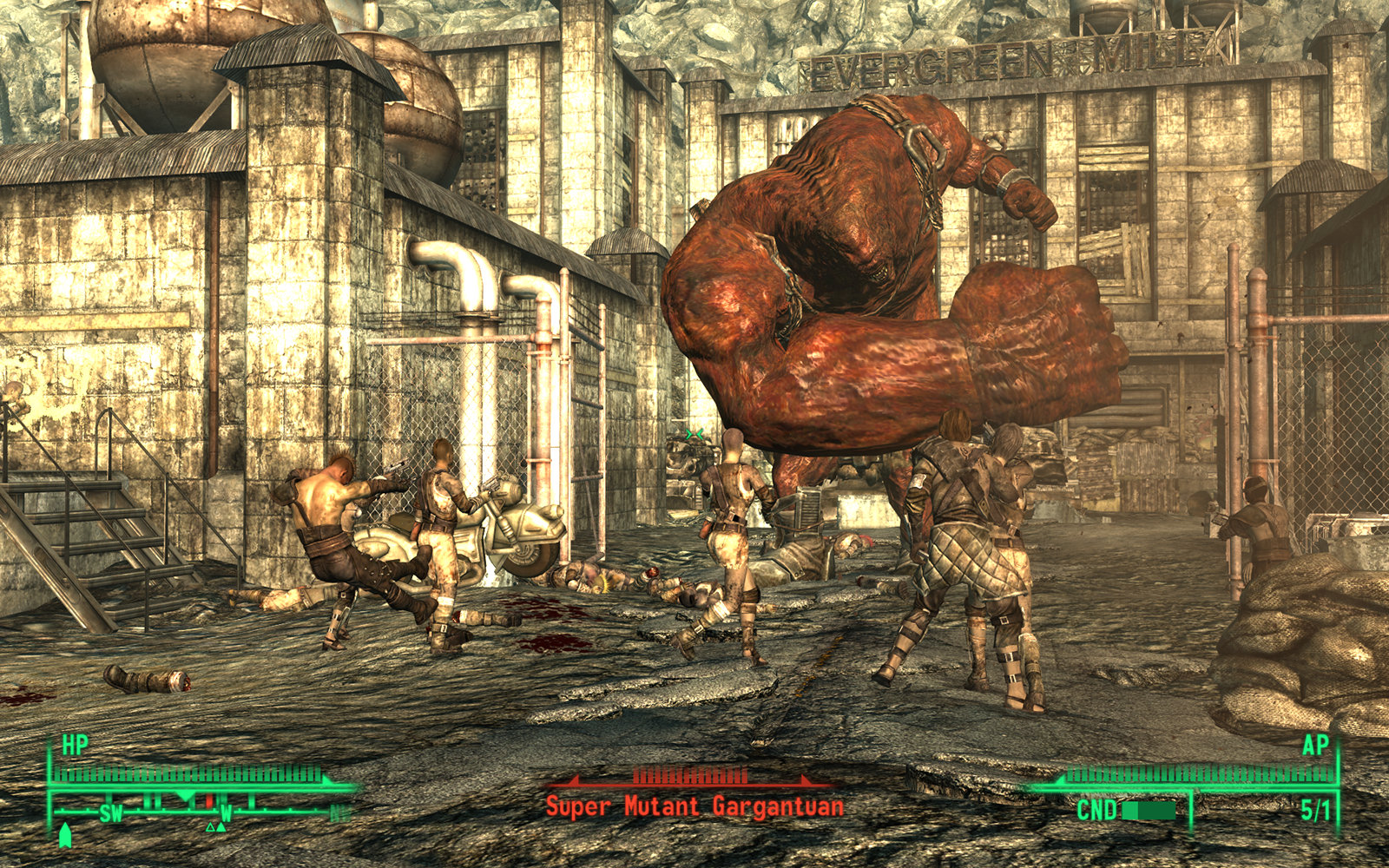 This guy looks dangerous : Fallout