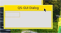 QS-GUI DIALOG