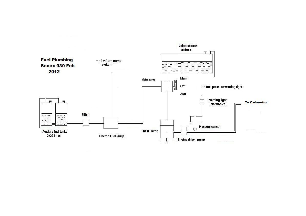 Welcome To Adrians Sonex Website Plumbing Diagram Below Showing The Utilisation Of An Enginedriven Click Me For A Big Picture