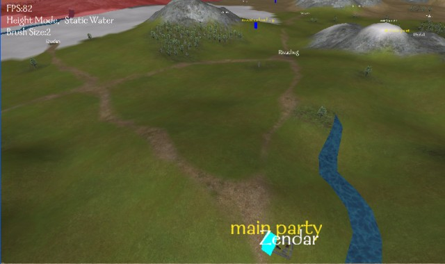 Thorgrims map editor v090 updated 20062008 the road was created by using a brush size of 2 then double clicking on it to select the whole road and thinning twice the texture used was steppe with gumiabroncs Choice Image