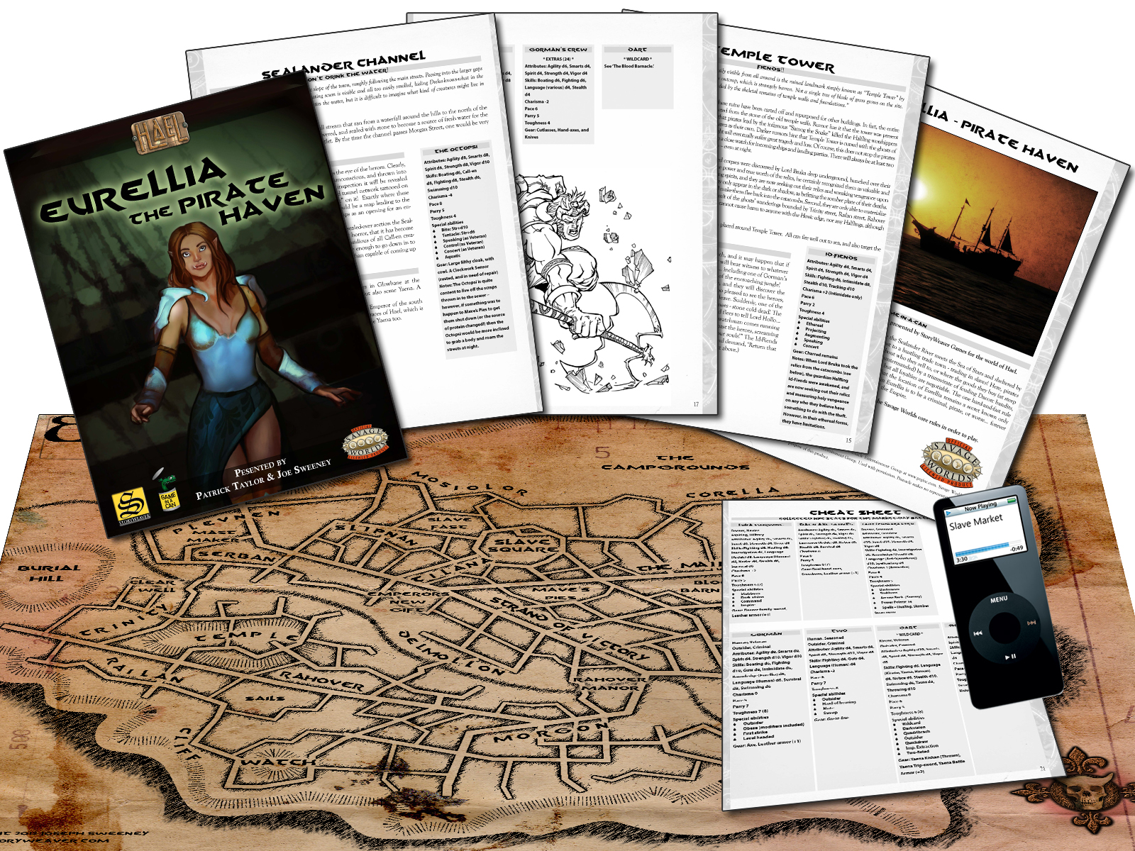 Eurellia - The Pirate Haven Promo Page