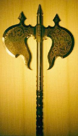 Medieval Arms and Armour - Battle Axes, Spears and Maces