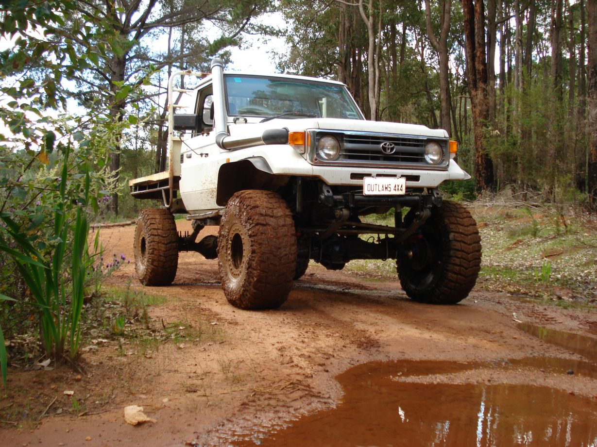 Show Us Your 75 Series Ute Australian 4wd Action Forum