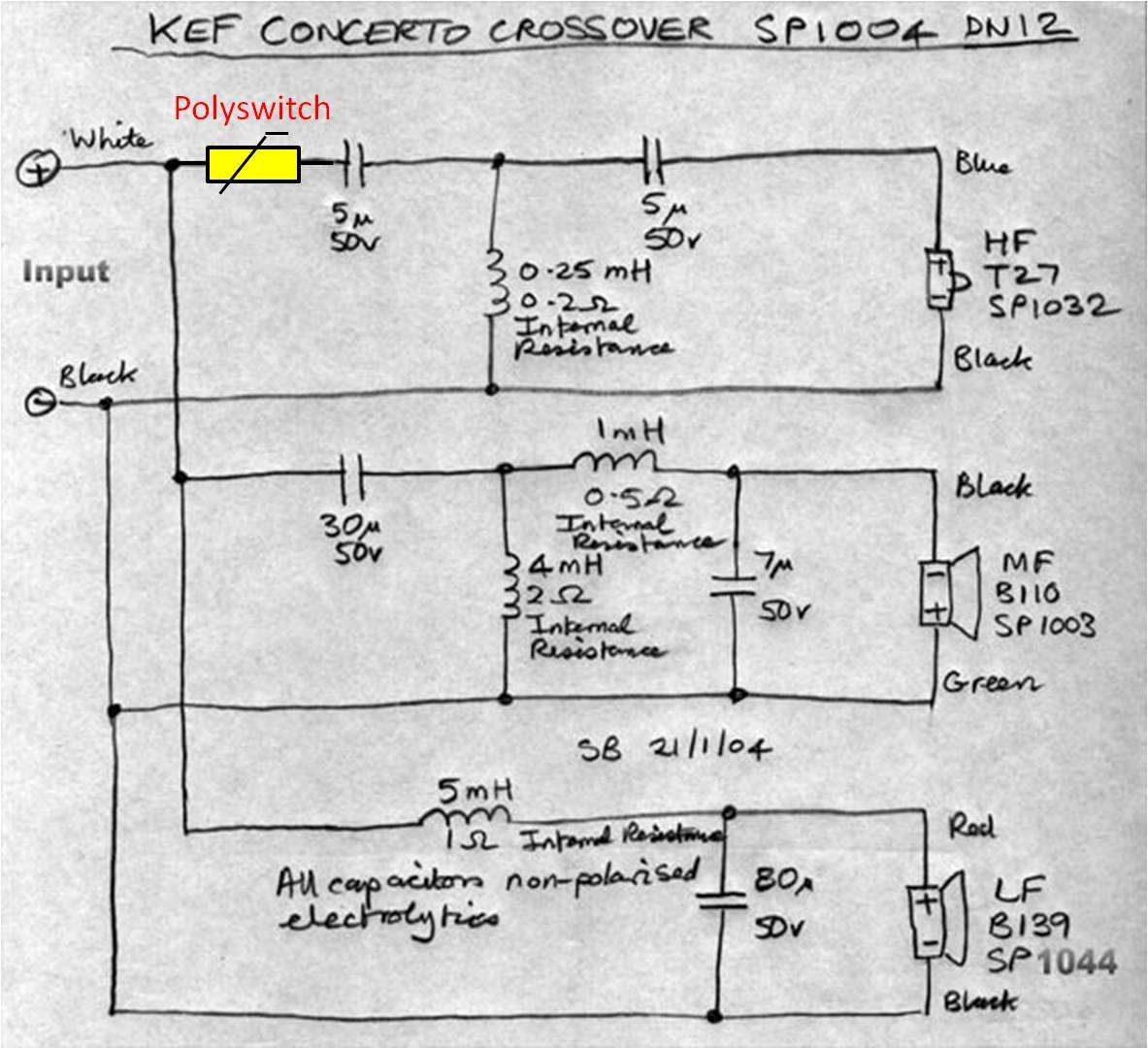 Kef Model 30b Wiring Diagram Page 2 And Schematics Melody Maker Concerto Speakers The Good Bad Rh Stereo Net Au