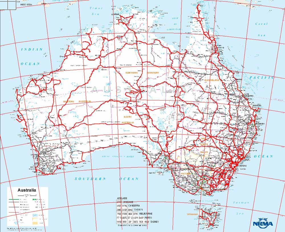 Map Of Australia Pdf.Detailed Map Of Australia Pdf