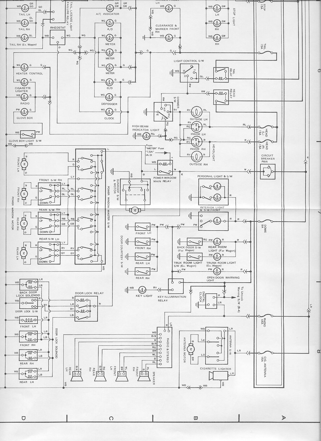 1985 Toyota Celica Fuse Box Illustration Of Wiring Diagram \u2022 89 Toyota  Pickup Fuse Diagram 1986 Toyota Supra Fuse Box