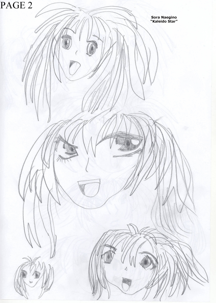 My Anime Drawings Page